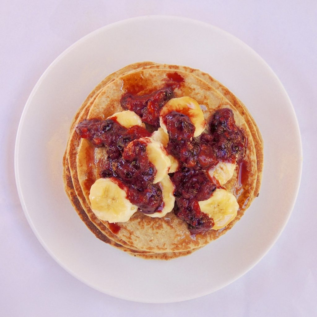 Banana And Oat Pancakes Healthy Kajuju